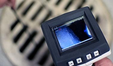 Passage caméra canalisations